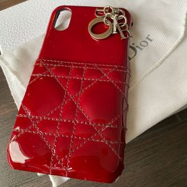 Christian Dior Red iphon case xs